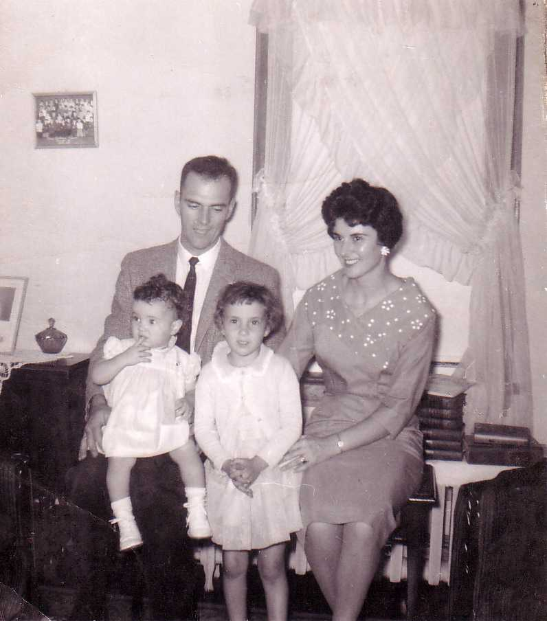 Ben Ida Marie and Heather - 1961