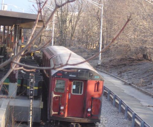 Redbird subway car