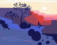 Color study/Digital sketch