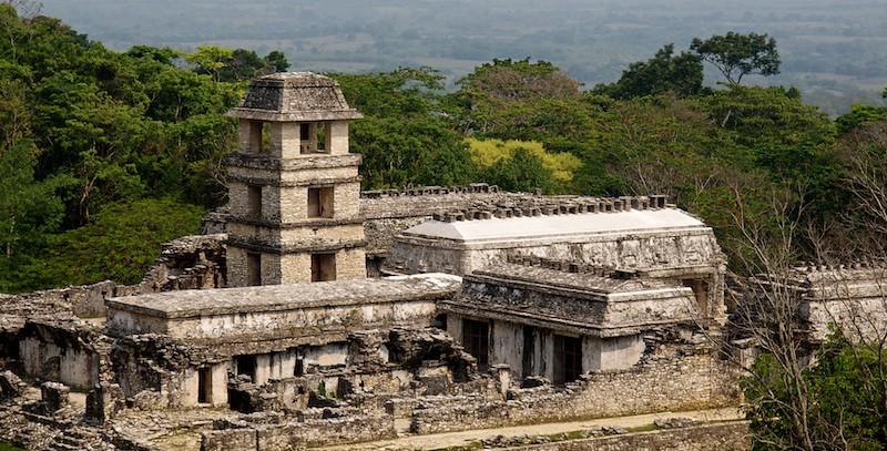 Palenque's Palace