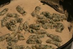 Gnocchi in White Bean Sauce