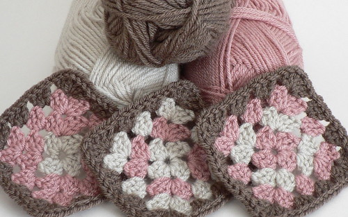 first granny squares