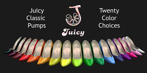 Juicy Classic Pumps by you.
