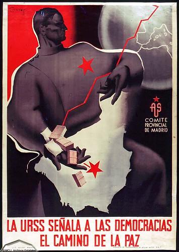 La URSS señala a las democracias el camino de la paz