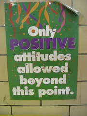 Only positive attitudes