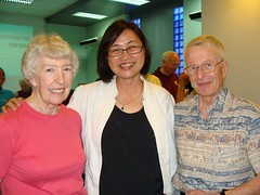 Rev & Mrs MacDonald & Phyllis