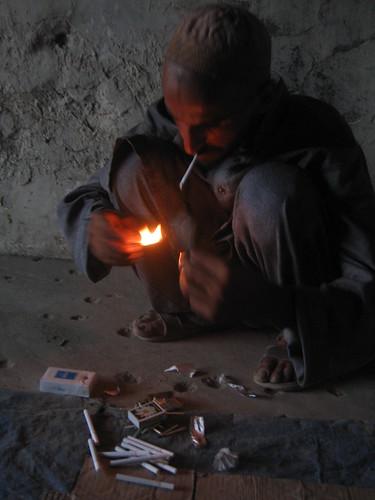 opium addict kabul