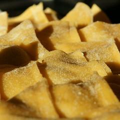 Kartoffel-Thymian-Triangoli Warten auf den Tiefkühler