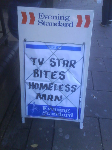 Another Quality Headline from The Evening Standard... by Big Marvin.