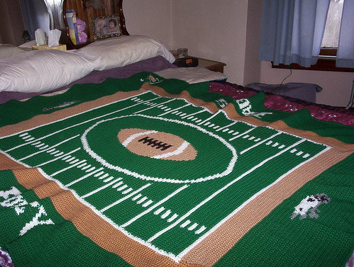Great idea for an American football fan!