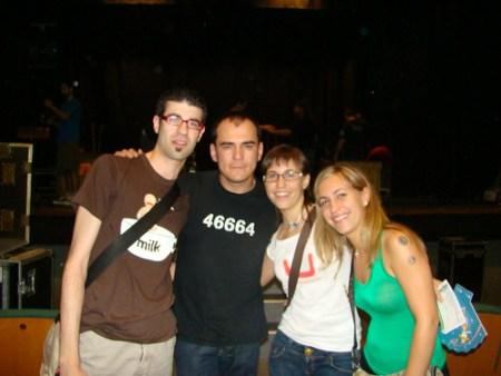 Con Ismael Serrano