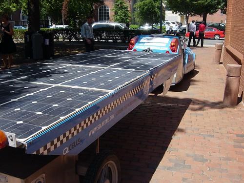 SolarTaxis Solar Panel