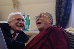 Dalai Lama with Marco Pannella