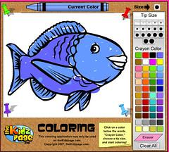 KidsPage Colouring