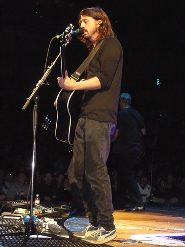 Dave Grohl With Acustic