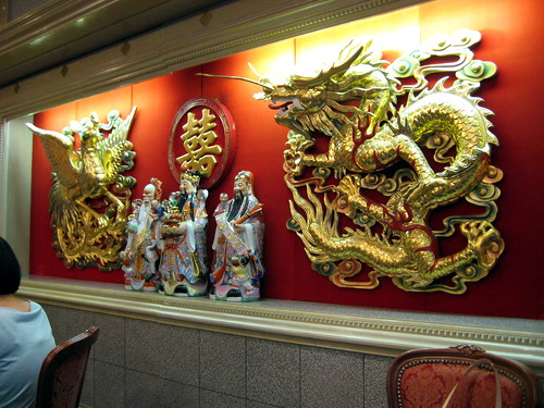 Decorations in Fungs Kitchen.