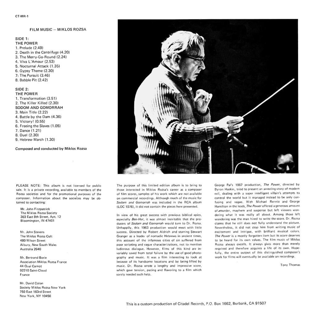 Soundtrack Lp Cover Art Page 69