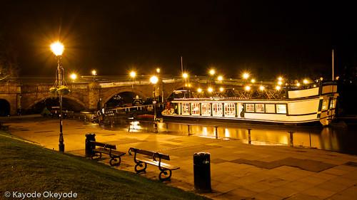 Richmond Bridge (and Floating Restaurant)