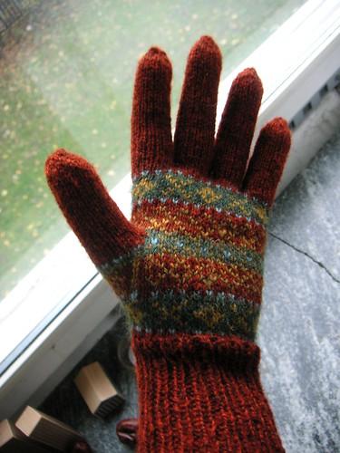 glove no 1 finished