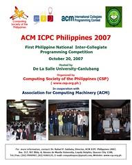 icpc2007poster