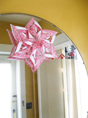 A Christmas star.