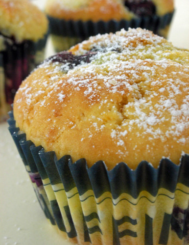 orange berry muffins