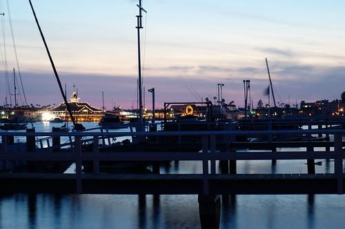 Sunset at Newport Bay (48/366)