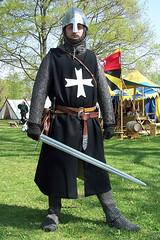 Hospitaller knight with sword