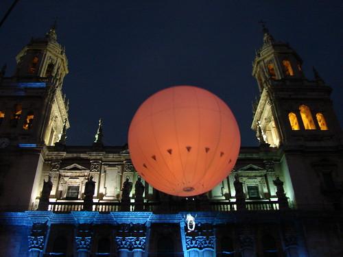Globo en la catedral de  Jaén