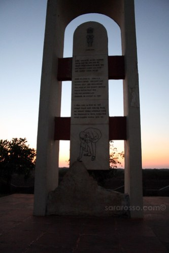 Gandhi Monument - Salt Satyagraha, Dandi Beach, Gujarat India