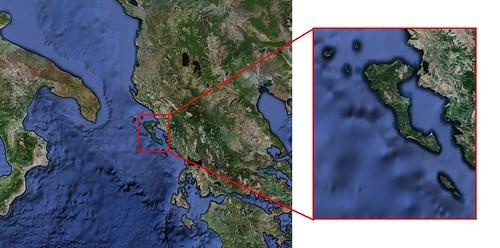 Corfú - Isla de los Feacios