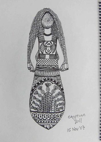 egyptian doll