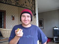 james wears his fibonacci hat