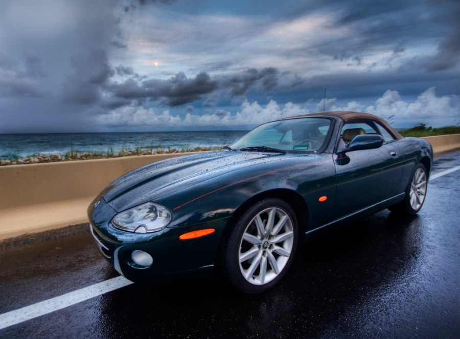 Evening Storm and the Jag