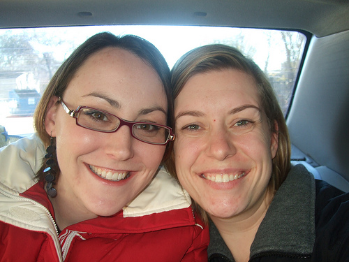 Sara and Bethany