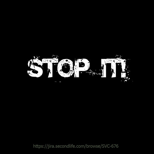 help SL, ask LL to stop it!
