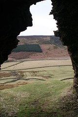 Cringle Moore view from Cold Moor Ironstone Drift Entrance