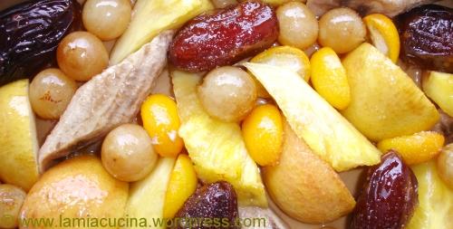 Gratin di frutta gratiniert