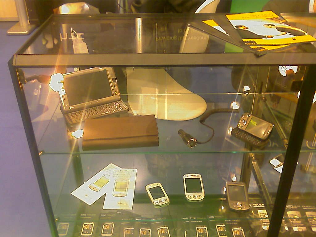 HTC Display Cabinet