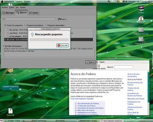 Fedora 8 customized