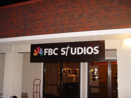 FBC Studios sign