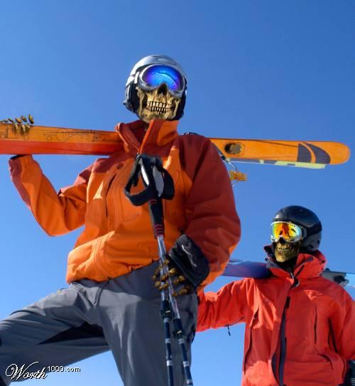 death skiing