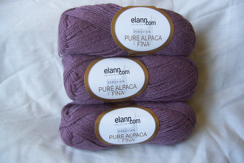 Elann Alpaca - lavender