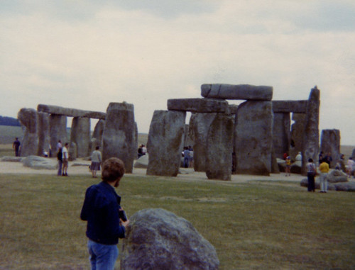 Jeremy at Stonehenge