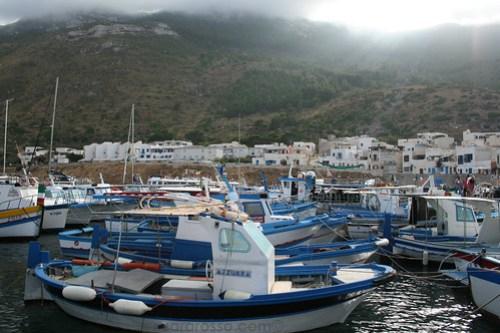 Marettimo Port, Sicily