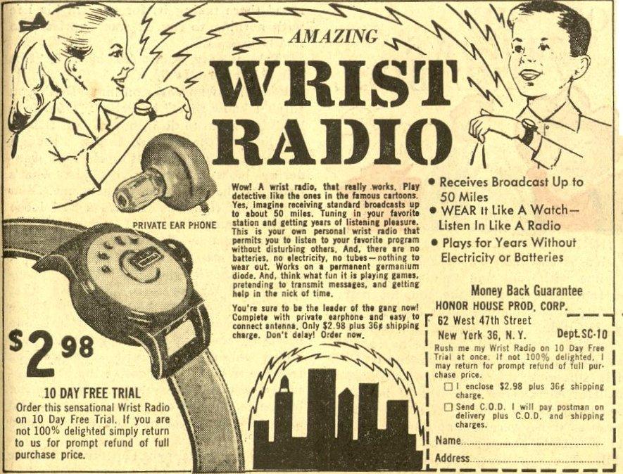 Generic Wrist Radio gadget
