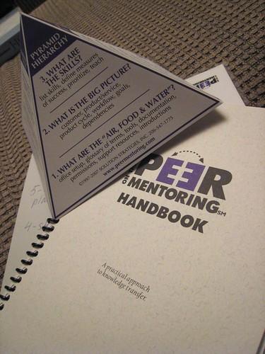 Peer Mentoring by dejahthoris on Flickr