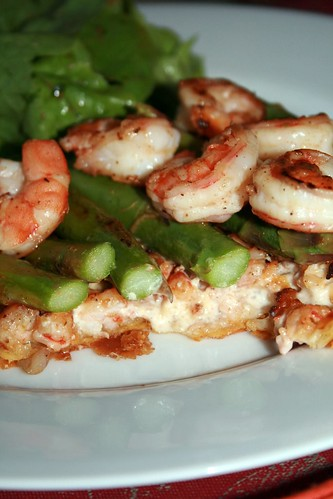 Shrimp and Asparagus Tarts 2
