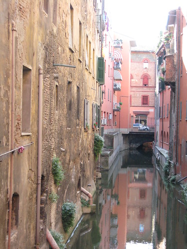 Canal in Bologna by susieredshoes