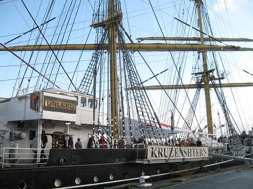 Brest  2008 : le Kruzenshtern